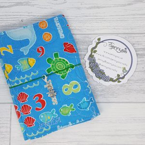 number sea creatures a6 trifold