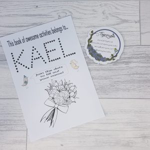 wedding activity book2