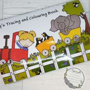 personlised colouring book
