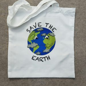 save the earth tote