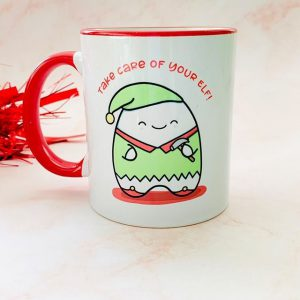 little pencil christmas mug
