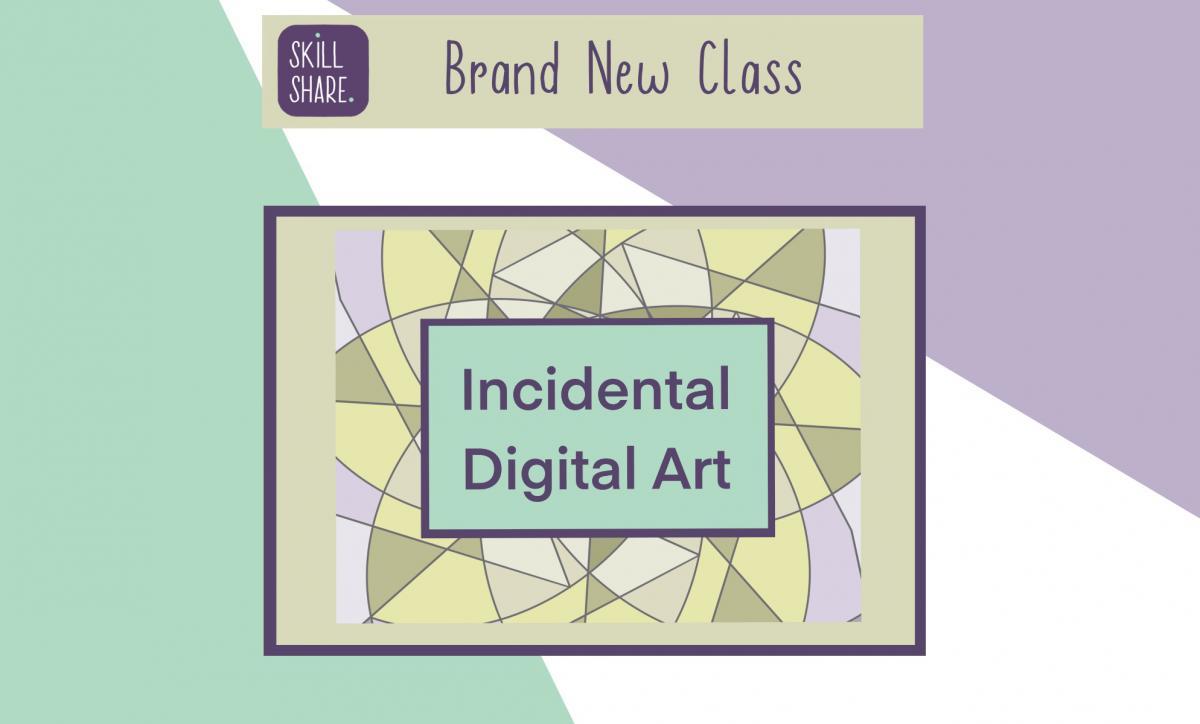 Brand new class to create incidental art in Procreate